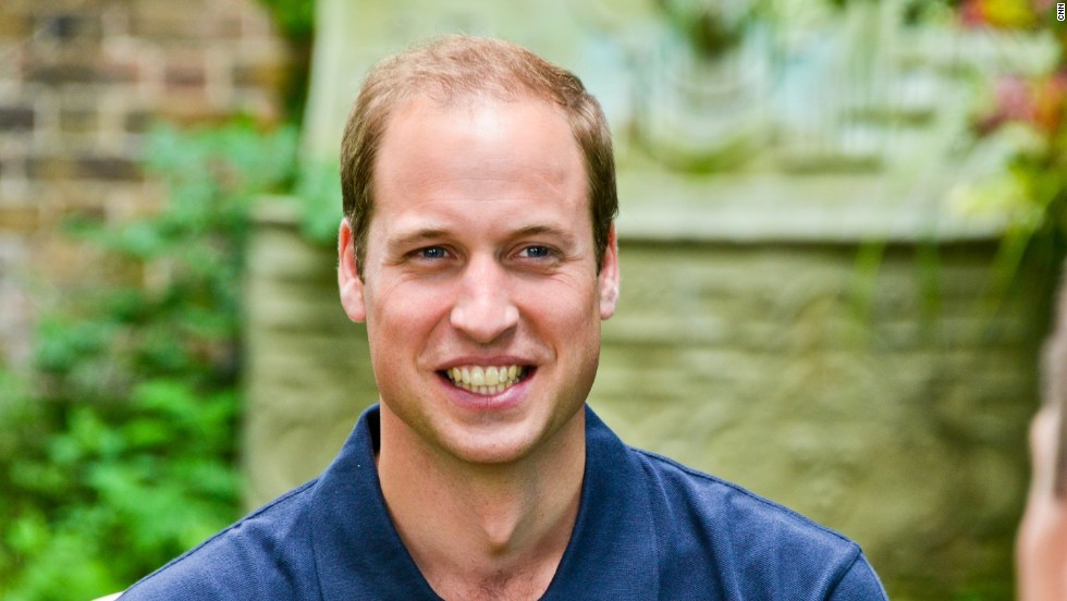 The prince discussed African conservation and a new award scheme organized by his charity, Tusk Trust, but he was also open to discussing fatherhood.