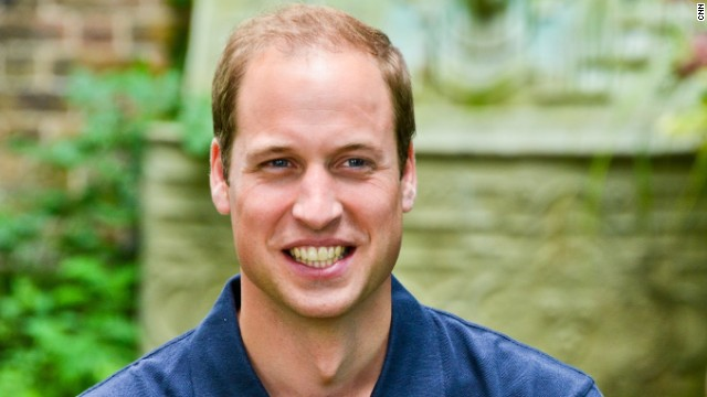 Britain's Prince William speaks to CNN in an interview earlier this year.