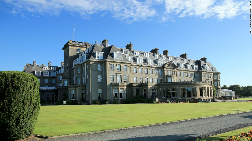 With lessons in horse riding, fishing and falconry, this Scottish Highlands luxury hotel won Best Family Program.