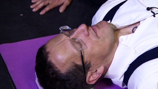 Richard Quest faces his fear