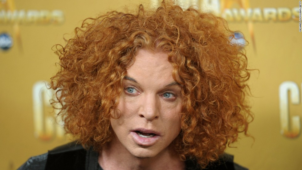 Reason redheads are proud of Carrot Top: They're not. (But he DOES jam with Widespread Panic. So, he's got that going for him.)