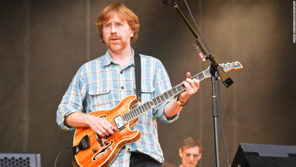"Reason redheads are proud of Trey Anastasio: His guitar solos during ""Possum"" melt faces in every city Phish visits. Every. City."