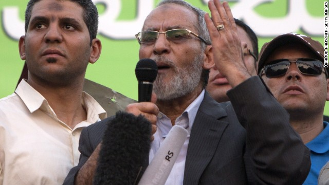 The arrest of Muslim Brotherhood leaders, such as Mohamed Badie, could set back democracy in Egypt, says Gerges.