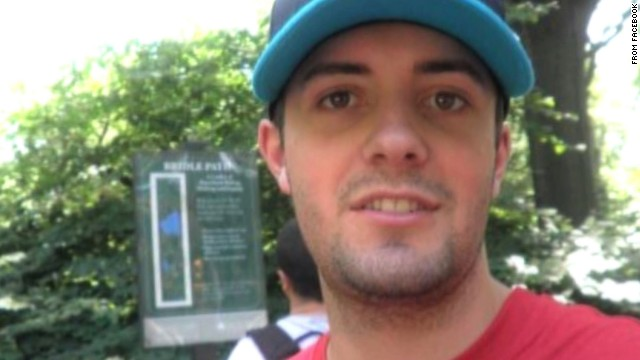 Christopher Lane was shot dead at random while jogging, police say.