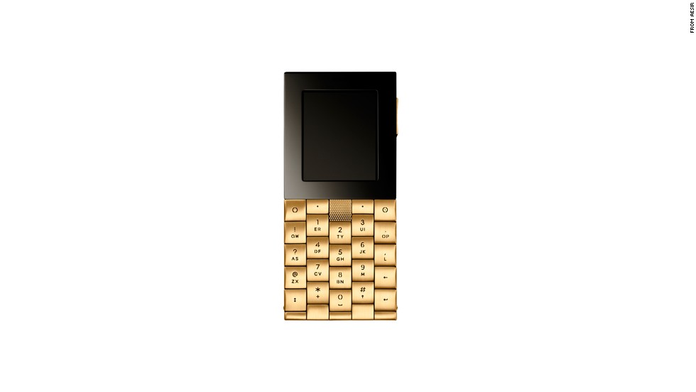 "The solid gold $57,000 <a href=""http://www.aesir-copenhagen.com/"" target=""_blank"">Aesir phone</a> was designed in 2011 as a limited-edition device for rich consumers in Moscow. It only makes phone calls and cannot connect to the Internet."