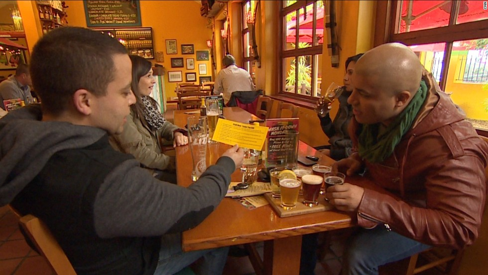 """Banana Jam Cafe in the Western Cape holds tasting events to bring craft beers to a wider audience. """"You are looking for quality over quantity -- and people are willing to pay for that,"""" says owner Greg Casey."""
