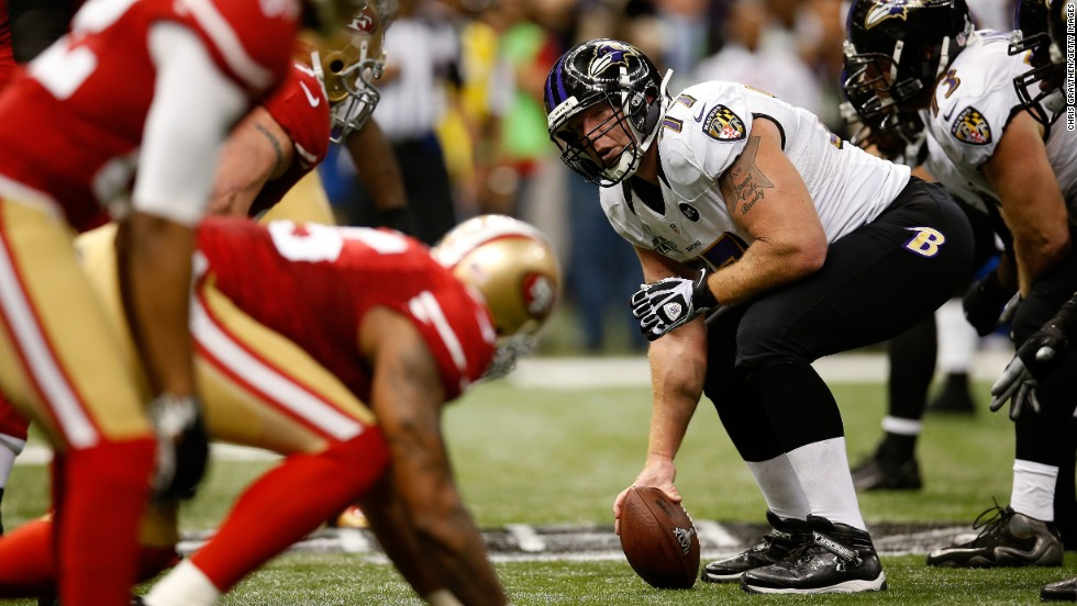 Baltimore Raven Matt Birk skipped a visit with President Obama at the White House this year.