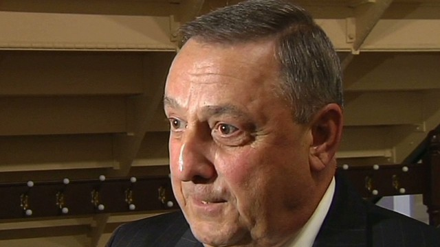 Maine's governor denies Obama remark