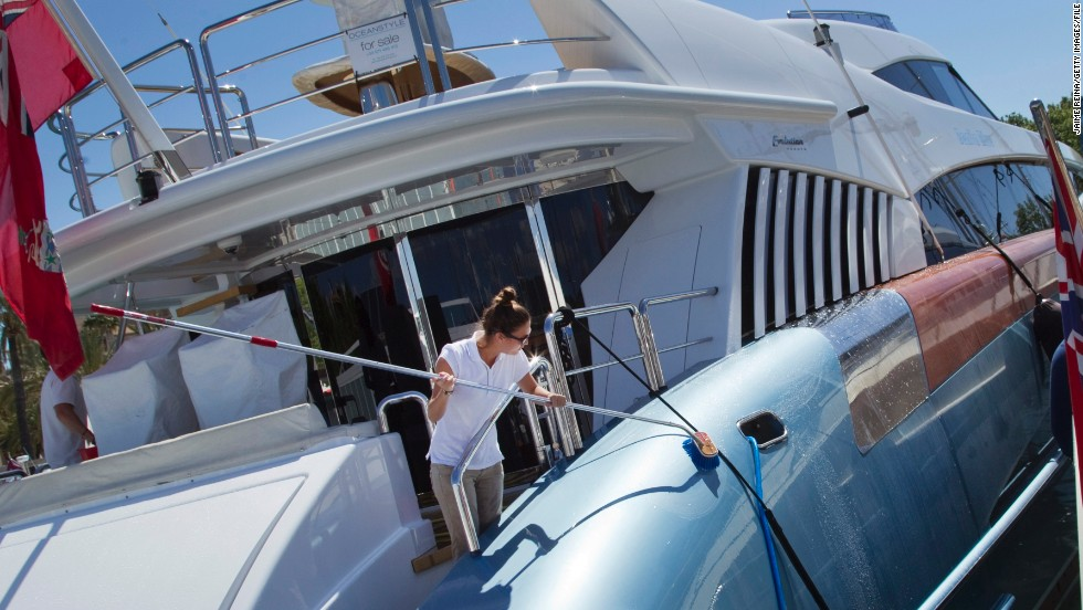 "Many private yacht owners offer free food and board for volunteer crew members. ""It's not necessary to have sailing qualifications, it's more important to have the right attitude,"" said Kylie Gretener of findacrew.net."