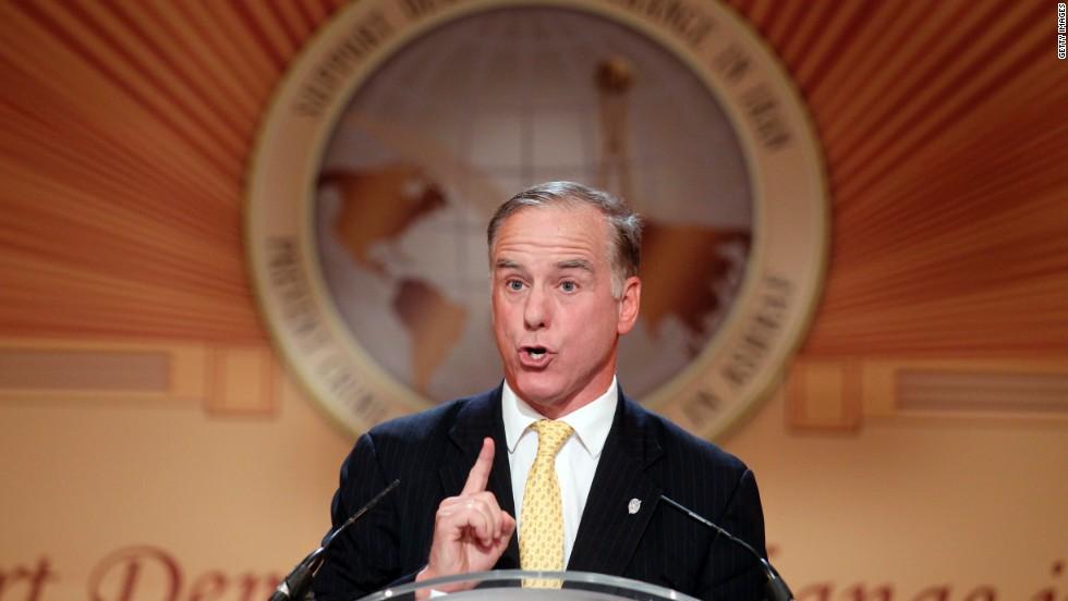 Former Vermont Gov. Howard Dean