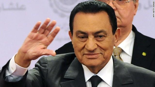 Verdict is in for Egyptian ex-president