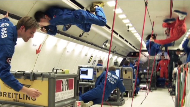 CNN Business Traveller: Zero gravity