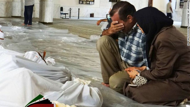 Many dead amid chemical warfare claims