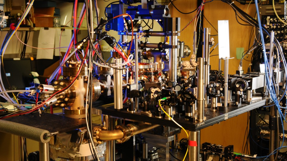 Researchers have created this atomic clock using the atoms of the element ytterbium at the National Institute of Standards and Technology  in Boulder, Colorado. They say it could be the most precise method of measuring time in the world. Click through to explore other clocks that are important in other ways.