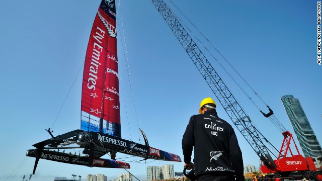 Meet America's Cup flying hi-tech boats