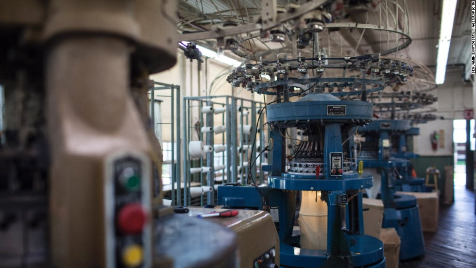 "Mohnton Knitting Mills has its own knitting factory where it turns combed cotton ring-spun yarn into thermal cloth, waffle stitch cloth and jersey cloth on circular knitting machines. ""We're good at what we do,"" says Gary Pleam, fifth-generation owner of the mill."