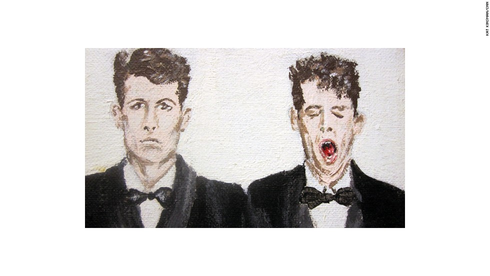 "As did a small acrylic painting of the Pet Shop Boys album ""Actually."""