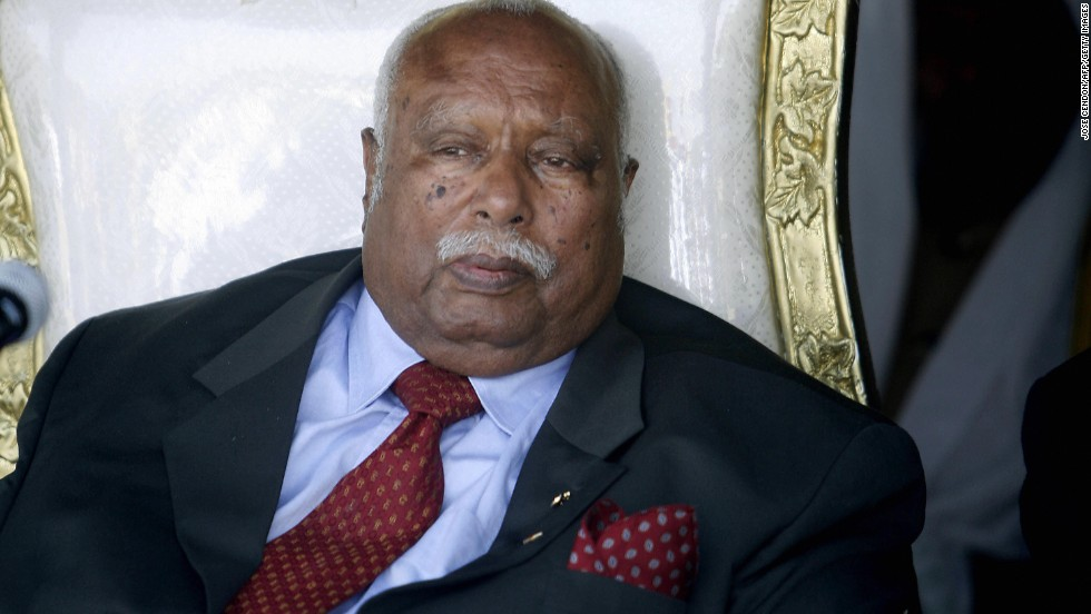 Ethiopian President Girma Wolde-Giorgis is aged 88.