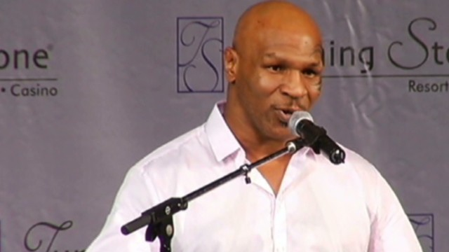 See Mike Tyson's heartfelt confession