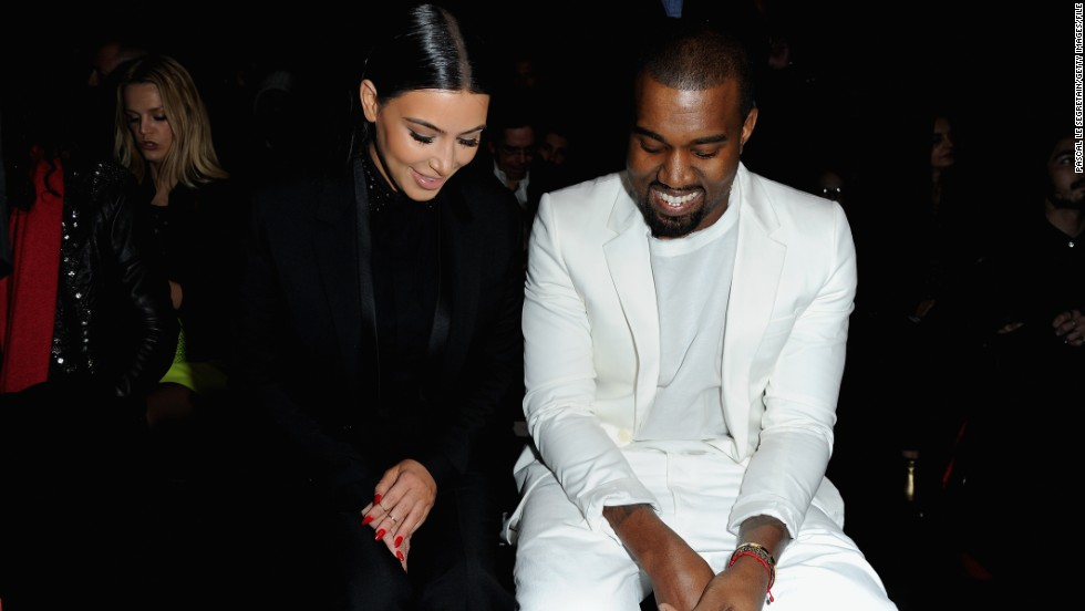 While momager Kris Jenner believes Kim and Kanye are a match made in heaven, we think they're more like two peas in a pod. Notice how often they coordinate their outfits, like they did here at a fashion show in March 2013?