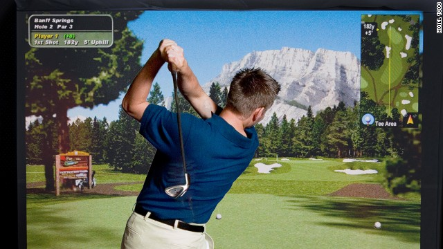 Why fly when you can play 50 international golf courses virtually?