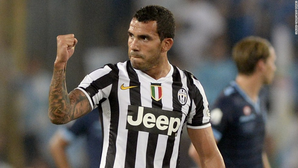 Ahead of the new Serie A season, Juventus has bolstered its ranks with the signing of strikers Carlos Tevez and Fernando Llorente. Tevez endeared himself to Juve fans immediately by scoring the fourth goal in the team's 4-0 Italian Super Cup win over Lazio.