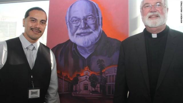 Father Greg Boyle helped Fabián Debora leave gang life behind.