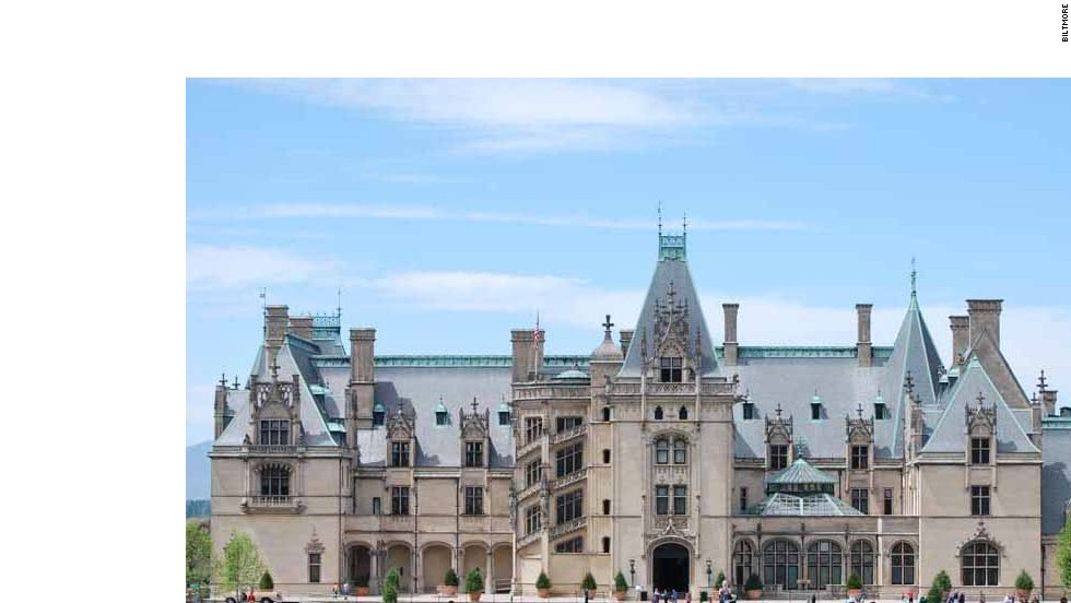 The largest privately owned residence in the United States has 250 rooms, 43 bathrooms, 65 fireplaces, three kitchens and, in case any French diplomats drop by, Napoleon's old chess set.