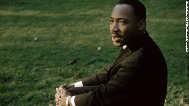 Martin Luther King Jr And His Family In Color