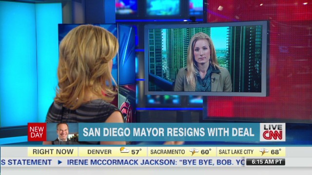 San Diego mayor resigns with deal