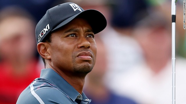 FedEx Cup series leader Tiger Woods has never won The Barclays tournament.