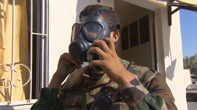 Competing claims of chemical weapons
