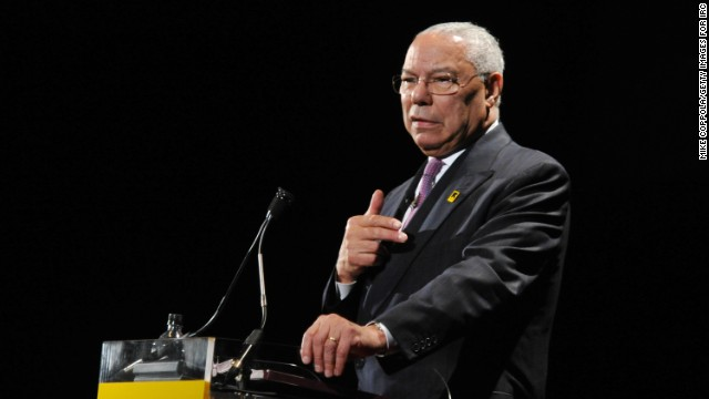 Colin Powell supports Iran nuclear deal