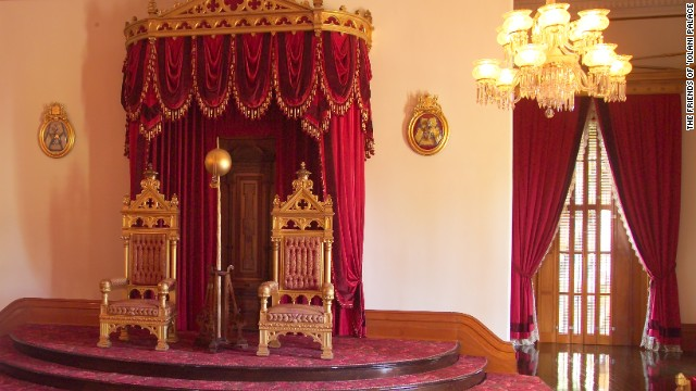 Yes, we've got thrones, too. ('Iolani Palace)