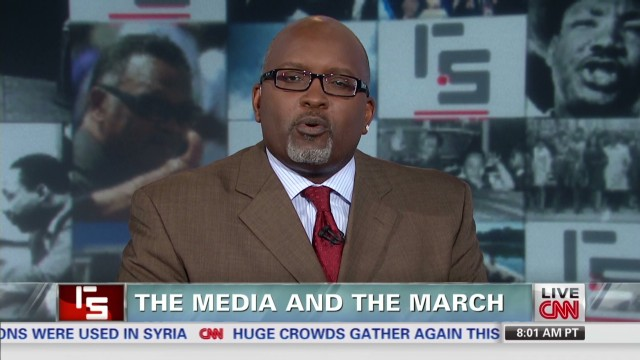 The media and the march