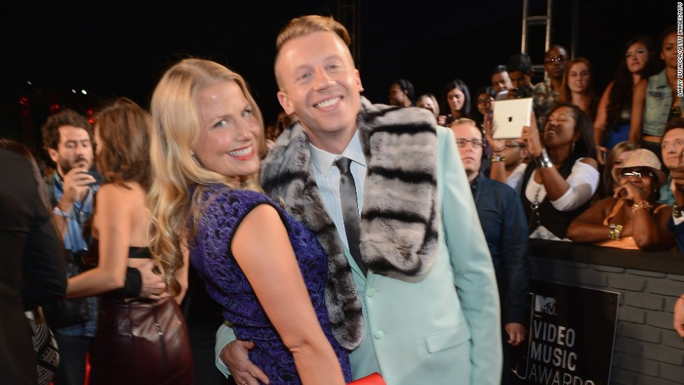 Tricia Davis and Macklemore