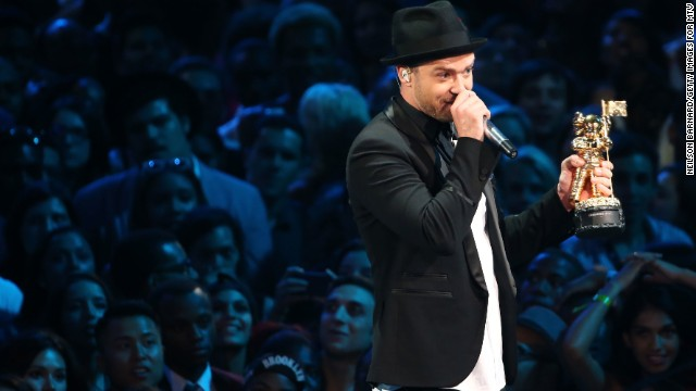 Justin Timberlake was a big winner at the 2013 MTV Video Music Awards.