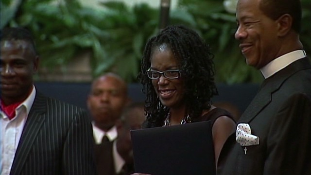Antoinette Tuff honored for heroism