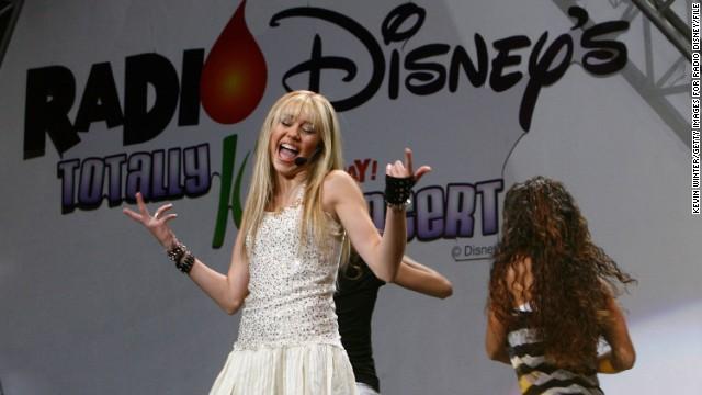 Miley Cyrus follows post-child star path