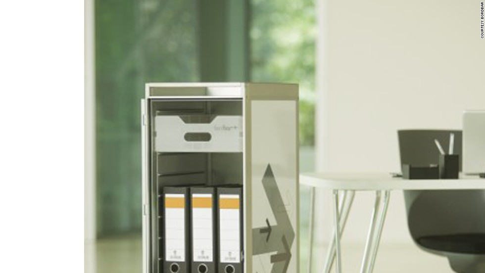 Once it held ginger ale and packets of peanuts. Now it holds important documents; bordbar trolleys start at €979 ($1,300).