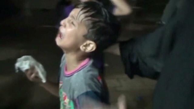 Response to Syria's 'moral obscenity'