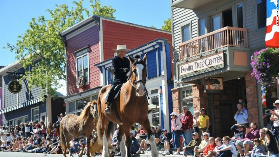 Each year there's a celebration in honor of the area's rich mining heritage, complete with a community pancake breakfast, live music, races and games for the kids, the Funky 5K Fun Run, and the annual Miner's Day Parade down Historic Main Street.