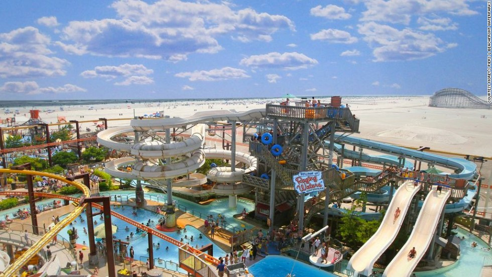This Labor Day weekend, pay a visit to one of New Jersey's many beachside waterparks, like Raging Waters at Morey's Piers in Wildwood, for a fun way to cool off in the hot summer sun.