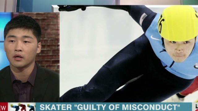 U.S. speed skater admits to tampering