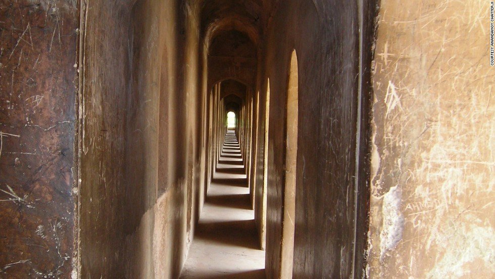 It was built as a massive labyrinth to confuse and delay any invaders who had been able to solve the riddle of its names and locate it on a map.