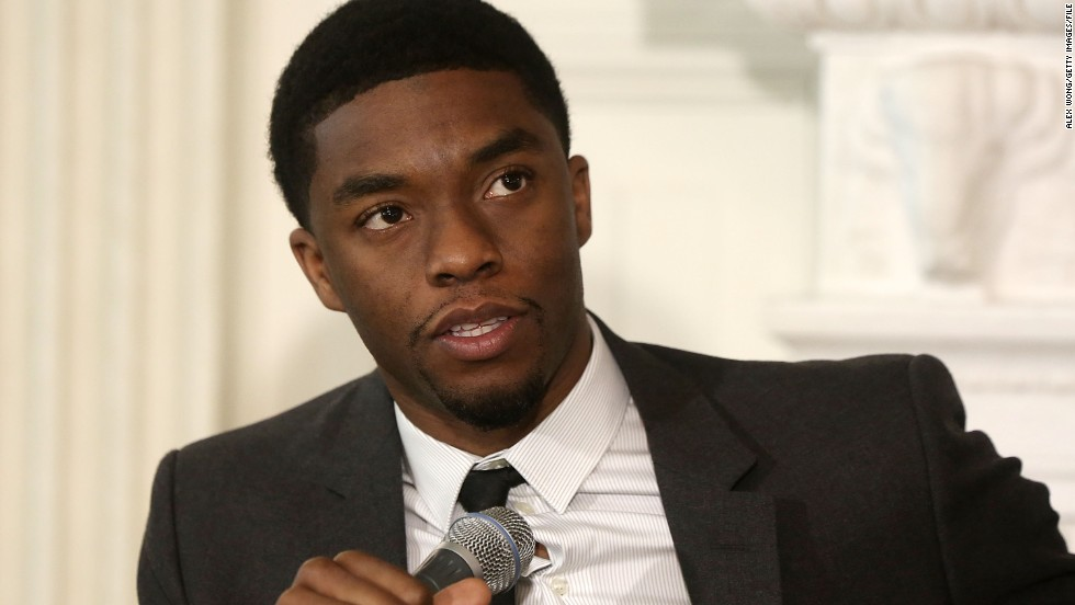 """42"" star Chadwick Boseman plays the comic-book hero Black Panther, who will be key to the plot of ""Captain America: Civil War."""