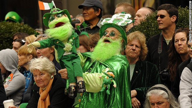 New York City's St. Patrick's Day parade has been held for more than 250 years.