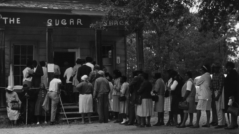 <strong>The 1965 Voting Rights Act:</strong>  After its passage, African-Americans flocked to the polls and reshaped the political environment.