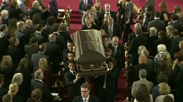 Funeral for Aussie baseball player