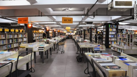 Librairie Avant-Garde owner Qian Xiaohua sees his bookstore as a kind of public library.
